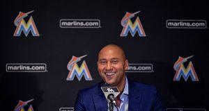 Derek Jeter Miami Marlins
