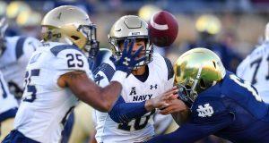 Notre Dame vs Navy