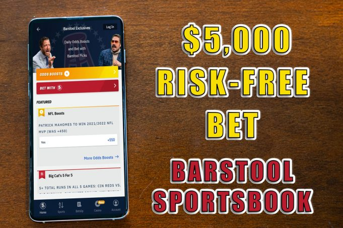 Barstool Sportsbook $5,000 promo