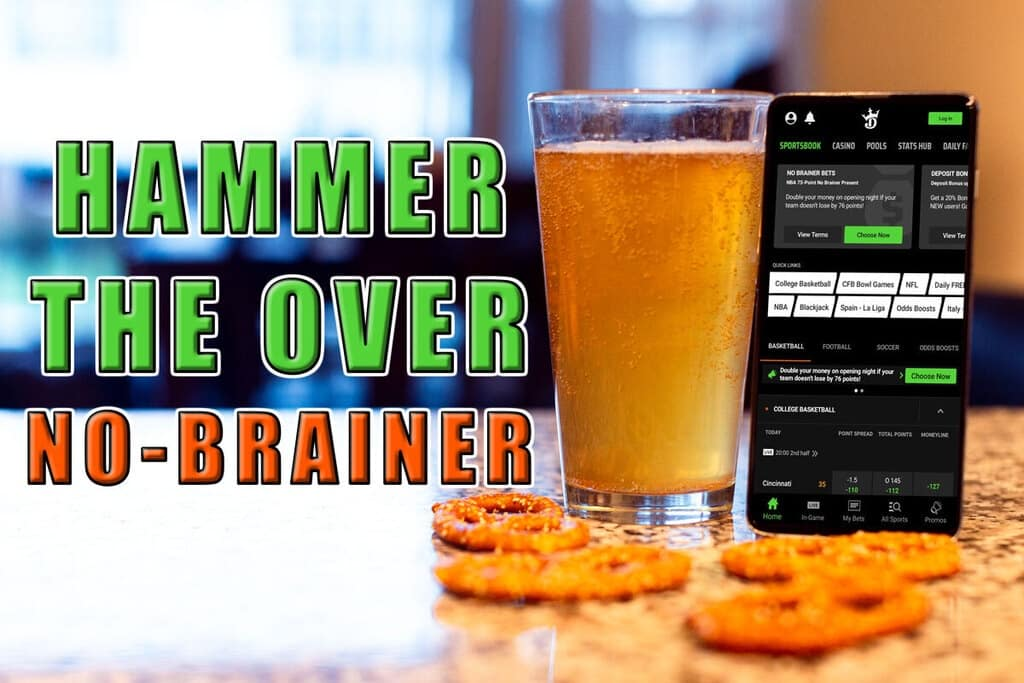 hammer the over draftkings