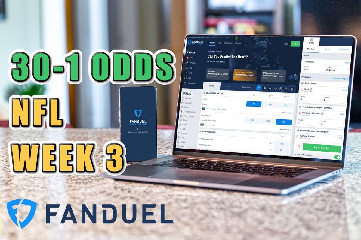 fanduel sportsbook promo 30-1 odds