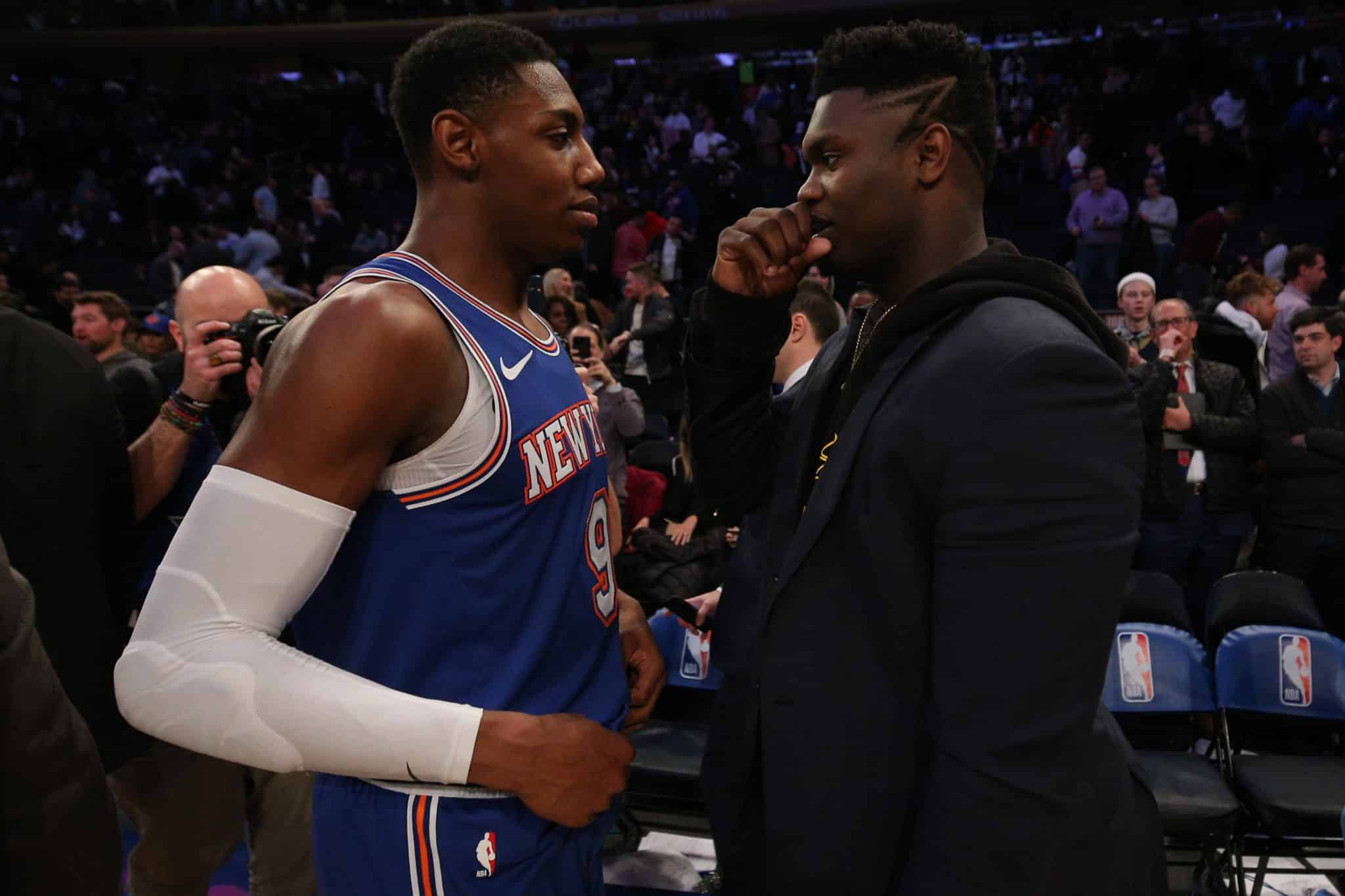 RJ Barrett lays low in crowded Most Improved Player field - Elite Sports NY