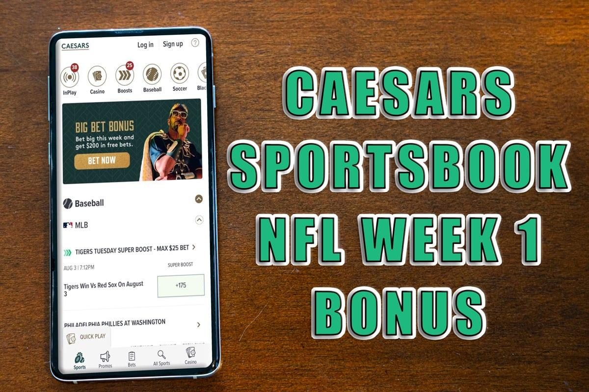 caesars sportsbook nfl promo