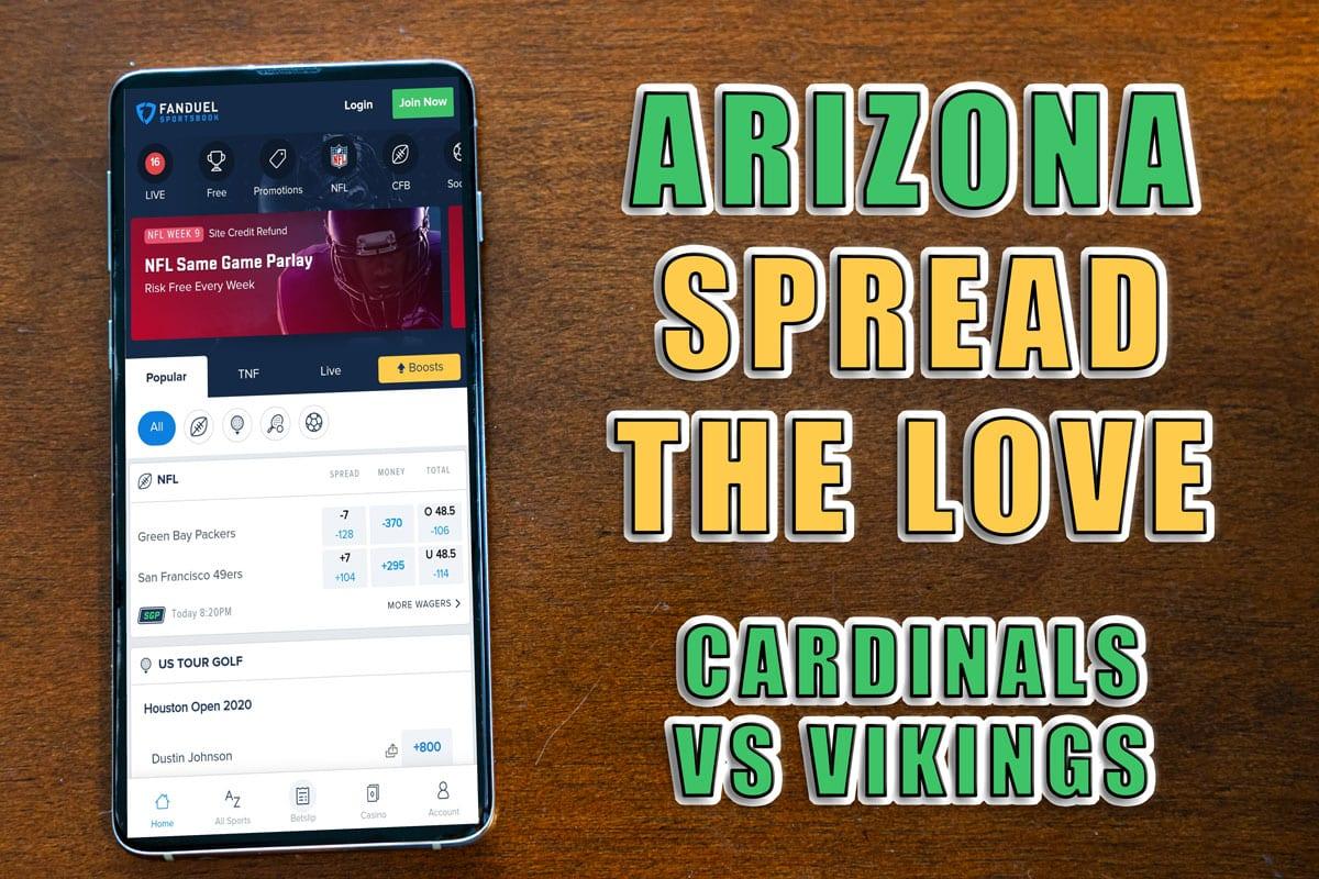 fanduel arizona spread the love
