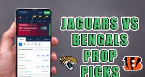 jaguars bengals player props picks