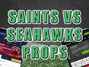 saints seahawks props