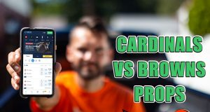 cardinals browns player props picks