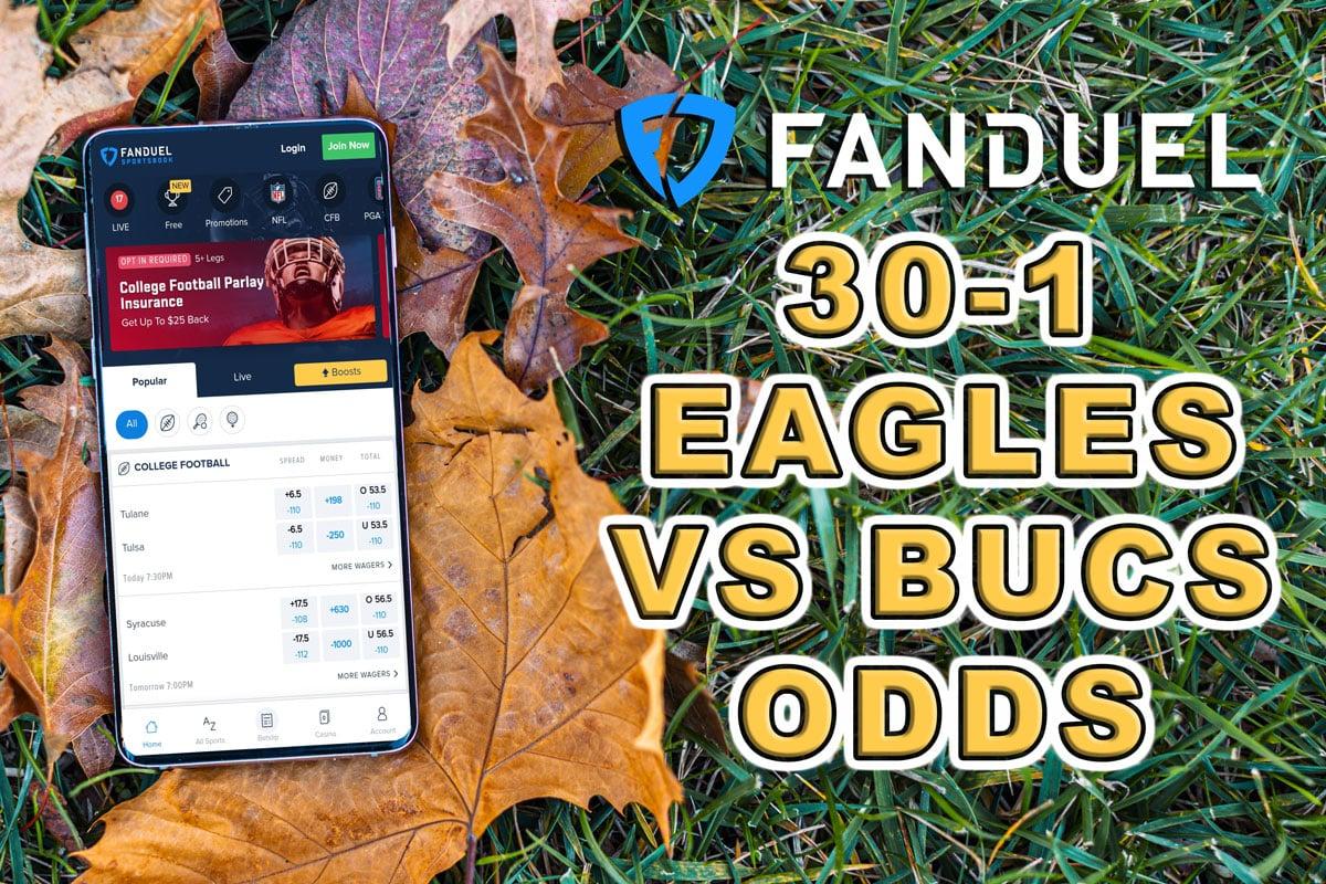 fanduel sportsbook promo code bucs eagles