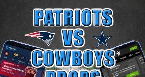cowboys patriots player props picks